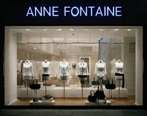 Boutique Anne Fontaine rue Saint Honorée